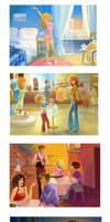 4 illustrations by Zzanthia