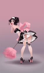 French maid by Zzanthia