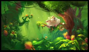 Jungle by Zzanthia