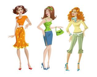 3 girls by Zzanthia