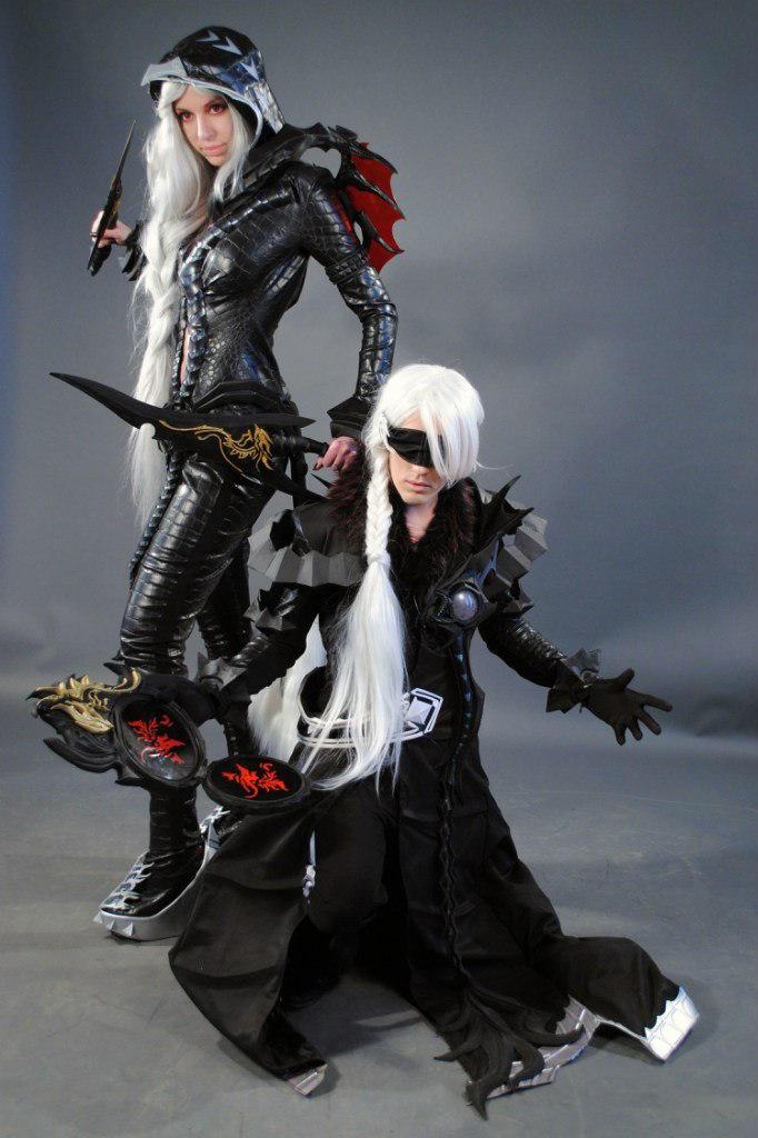 Aion Cosplay aion cosplay elyos assassin and spiritmasterlilbiliy on deviantart