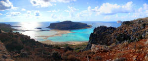 Balos lagoon by Lykorias