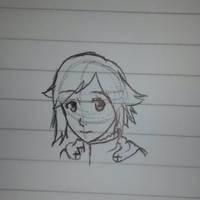 Ruby Rose doodle by Miku-Nyan02