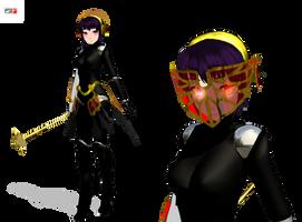 .:MMD:. Metis update -Persona 3 FES- by Miku-Nyan02