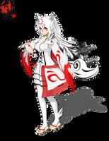 .:MMD:. Okami Amaterasu inspired model by Miku-Nyan02