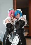 Re:Zero - Ram and Rem cosplay by Miku-Nyan02