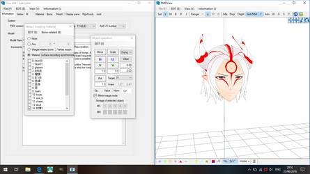 .:PMXe:. Yomigami WIP by Miku-Nyan02
