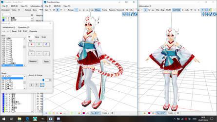 .:PMXe:. Snek lady WIP by Miku-Nyan02