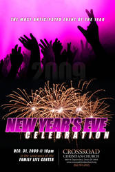 New Years Eve Celebration 2009 by cgitech