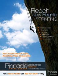 Pinnacle Print Ad by cgitech