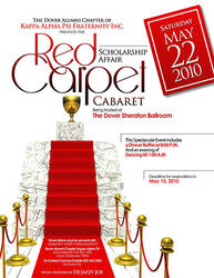 Red Carpet Flyer by cgitech