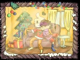 Christmas Card #3 by LadyGraine