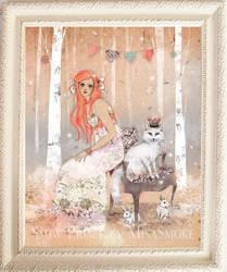 Snow Prince by Minasmoke