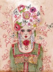 Marie-Antoinette by Minasmoke