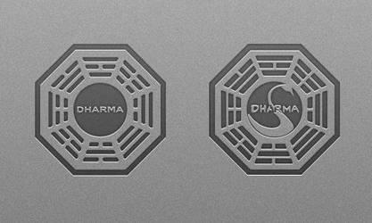 Lost Dharma Wallpaper Set by monstrrr
