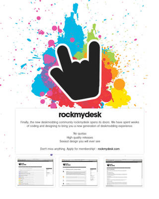 rockmydesk.com - register now by monstrrr
