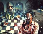 David Suzuki with Einstein by funkwood