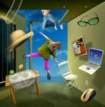 Levitating by funkwood