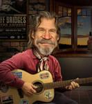 Jeff Bridges by funkwood