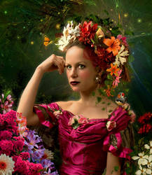 Flower Girl by funkwood