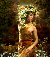 Floral Woman by funkwood