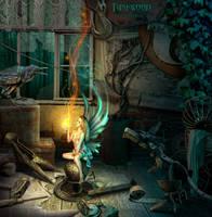 Workshop Fairy by funkwood