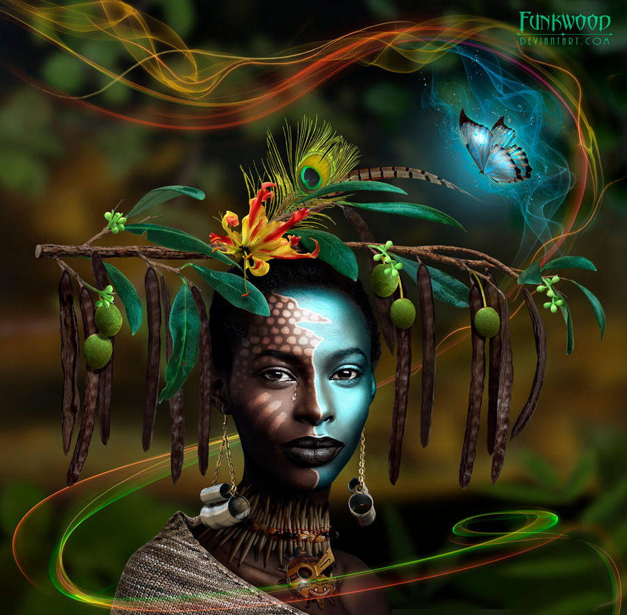 African Princess by funkwood