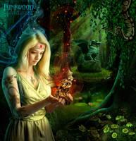 Dragon Lady by funkwood