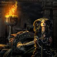 Dragon Slayer by funkwood