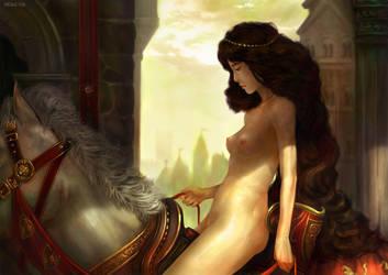 Lady Godiva Tribute by dcwj