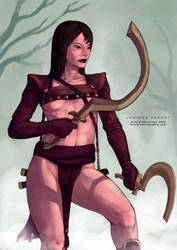 Janissa from Conan by dcwj