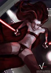 Vader Fanart by dcwj