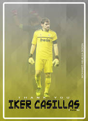 Iker Casillas Poster by AbuKlila