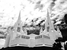 San Diego Temple by dragonman1997