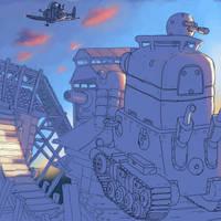 metalslug: rebel base by cuatico