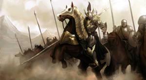 Cavalry Knights by ArtNotHearts