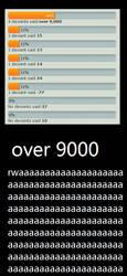 overr 9000 by sinriku