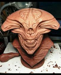 Demon alien by barbelith2000ad