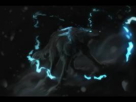 Blue light by Obsianas