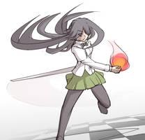 Dark Magician Hanako by RPCShell