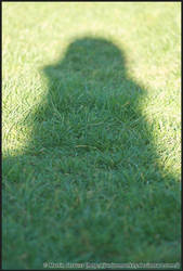 Self-portrait in shadow by juniormonkey