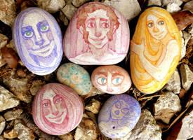 Happy rocks by Dryas-juas