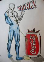 Pepsi man revenge by ericeric96
