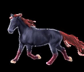 Custom Horse Pre-Cut #1 - Buckaroo-Stock by Satrumm