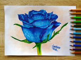 Blue Rose by LaertanaArt