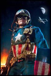 Captain America WWII by neorillaz