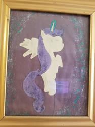 glitter pony by lilgirltris