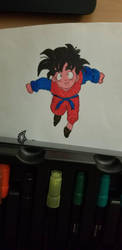 colored gohan by lilgirltris