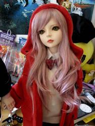 BJD  Red Coat by kawaiibabyheero