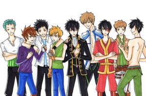 Type B Characters by kawaiibabyheero